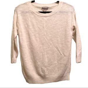 ⭐️10/$25 Banana Republic White Sweater | Size XS